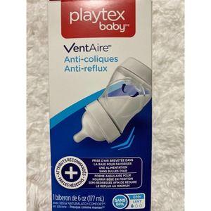 Playtex Baby VentAire Anti-Colic Anti-Reflux NEW